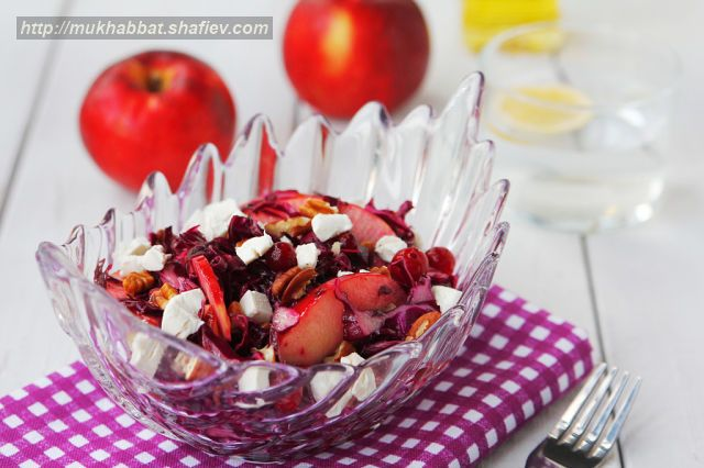salat cabbage cranberry cheese