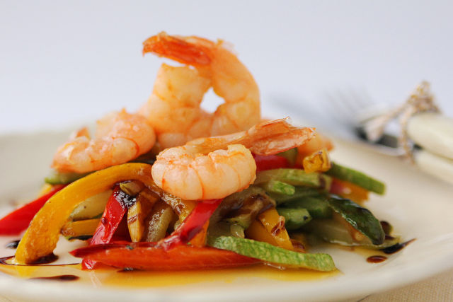 shrimps vegetables 2